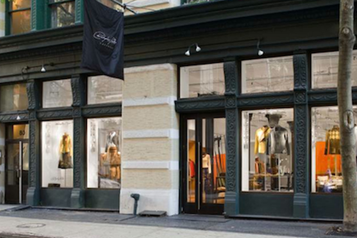 """The Christopher Fischer store in Soho; Image via <a href=""""http://www.examiner.com/article/christopher-fischer-cashmere-celebrates-fashions-night-out"""">Examiner</a>"""