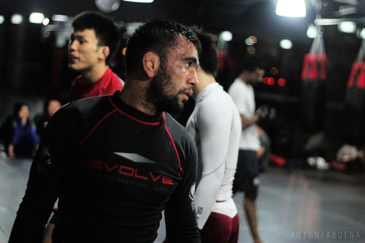 Photos: Shinya Aoki and Evolve MMA teammates train for ONE FC 8