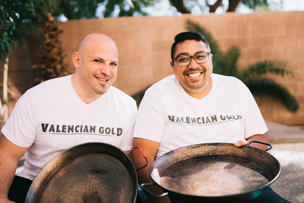 Valencian Gold Paella Restaurant Opens This Summer Eater Vegas