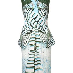 """Pleated graphic dress, <a href=""""http://www.farfetch.com/shopping/women/peter-pilotto-pleated-graphic-dress-item-10657742.aspx?storeid=9336"""">Peter Pilotto</a>, $2,071"""