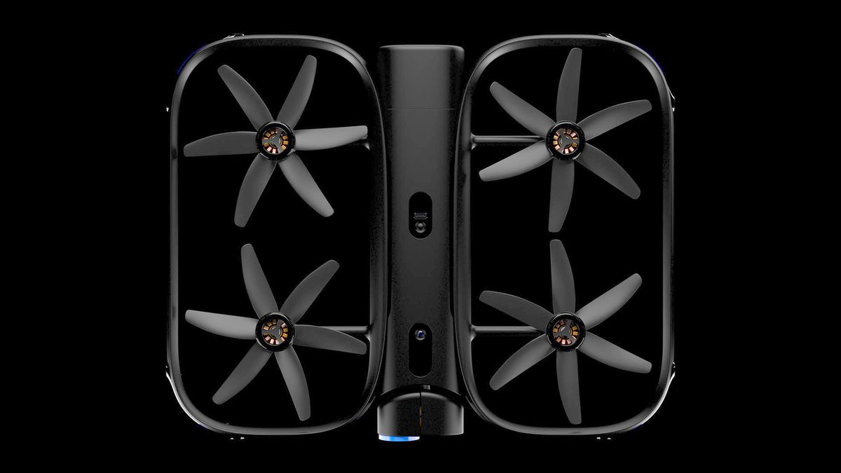 Skydios Ai Powered Autonomous R1 Drone Follows You Around In 4k F12 Selfdriving Gps Following Car Embedded Systems Learning Image Skydio