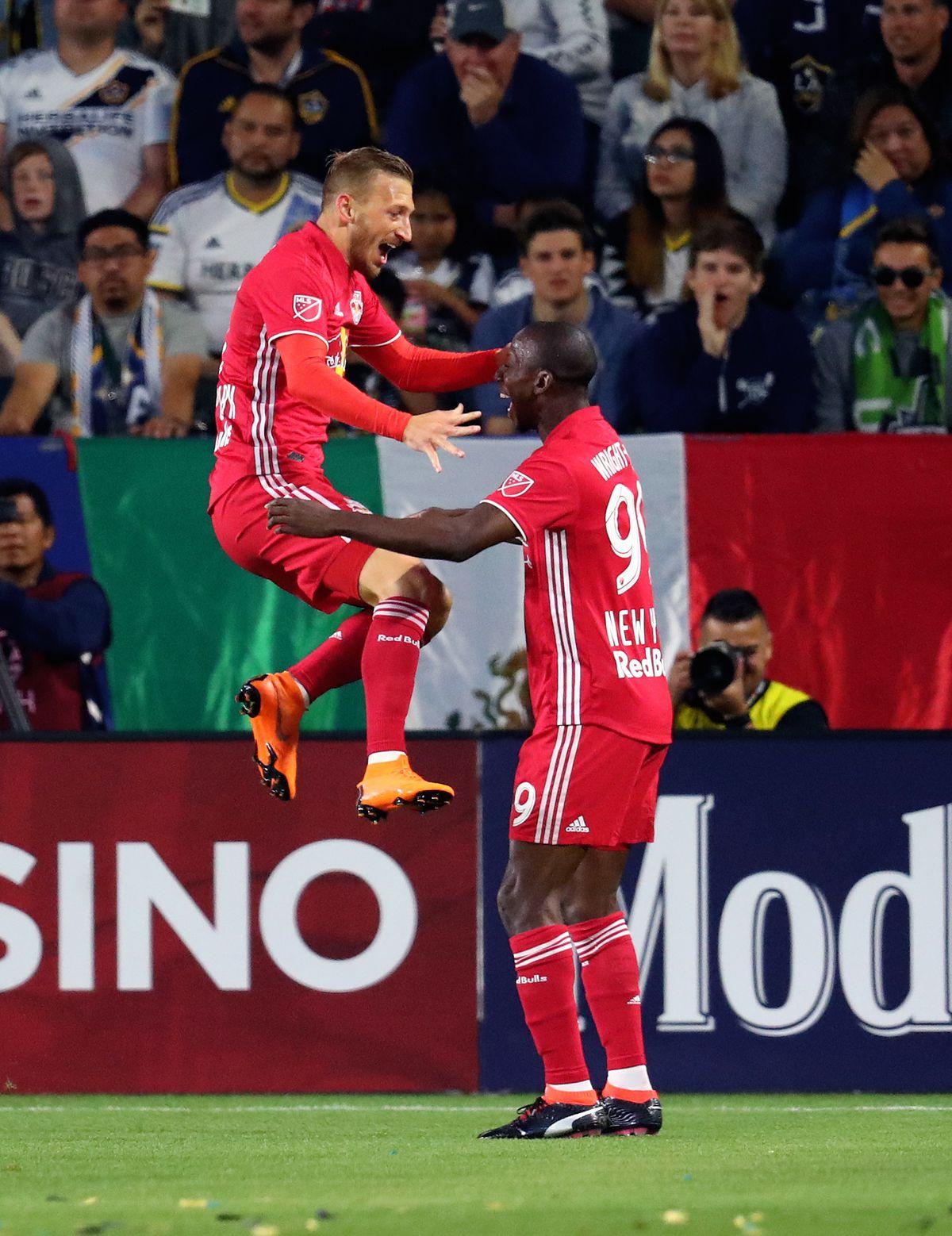 MLS: New York Red Bulls at Los Angeles Galaxy