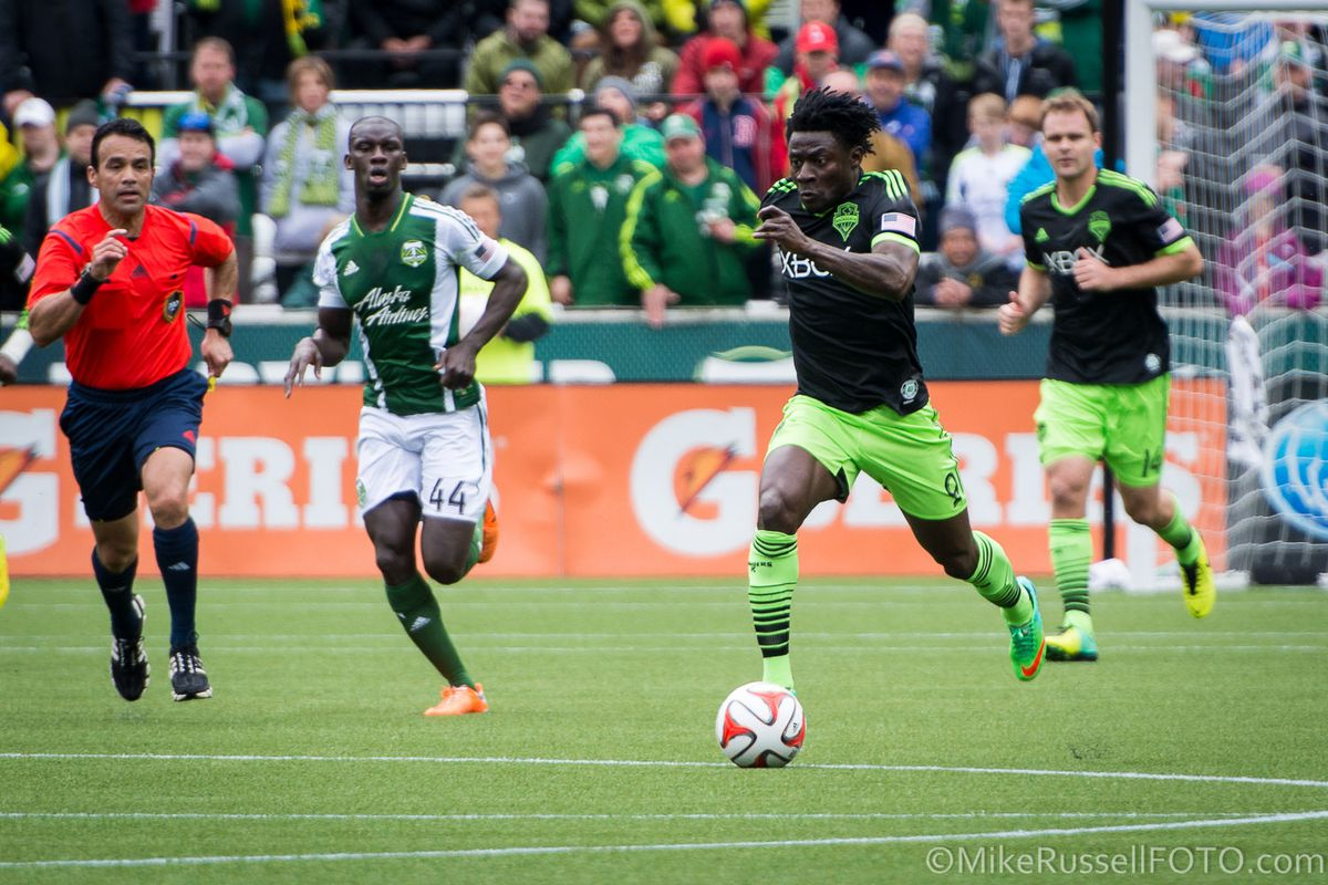 Readers were pleased with the two-assist performance from Obafemi Martins at Portland.
