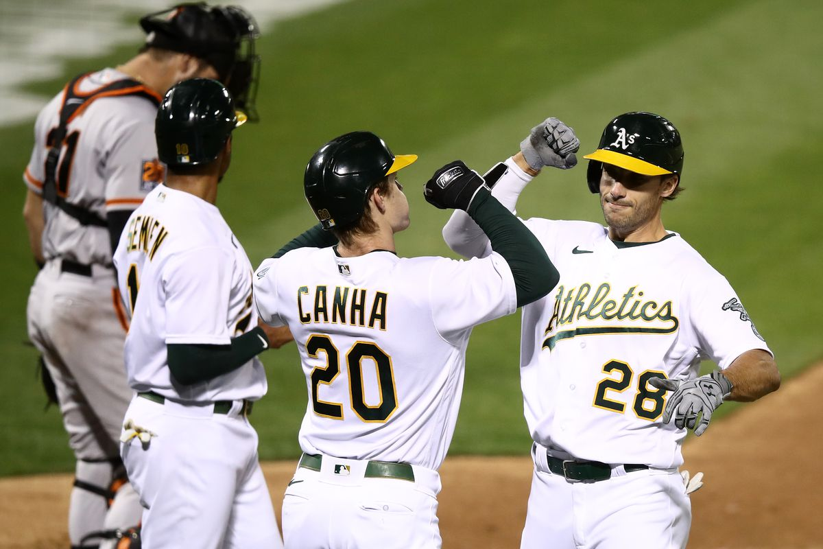 Oakland A's Game #51: A's shut out San Francisco Giants 6-0, clinch Wild  Card and Bridge Trophy - Athletics Nation