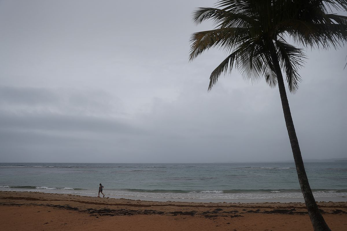 Tropical Storm Dorian Passes Over Puerto Rico