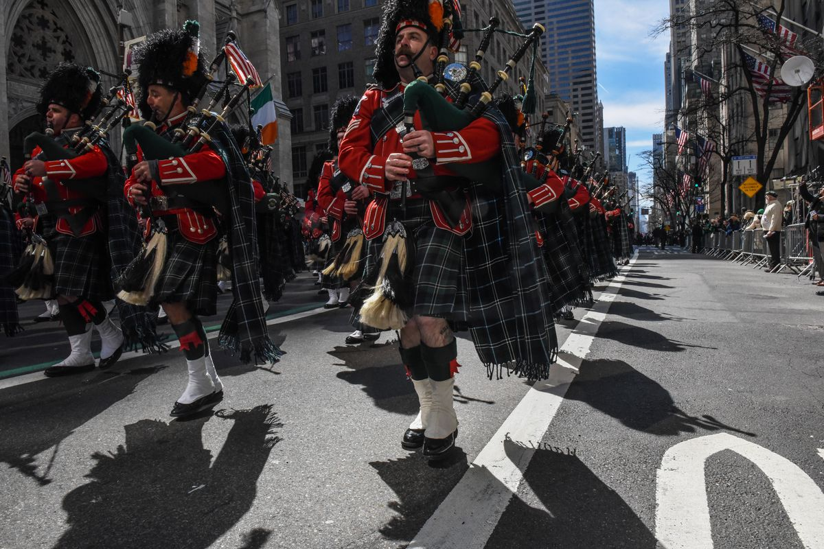 Annual St. Patrick's Day Parade Marches Down New York's Fifth Avenue