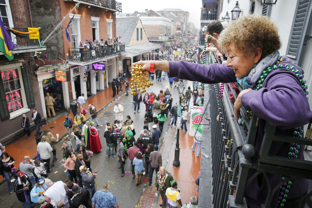 Annual Mardi Gras Parade Held In New Orleans