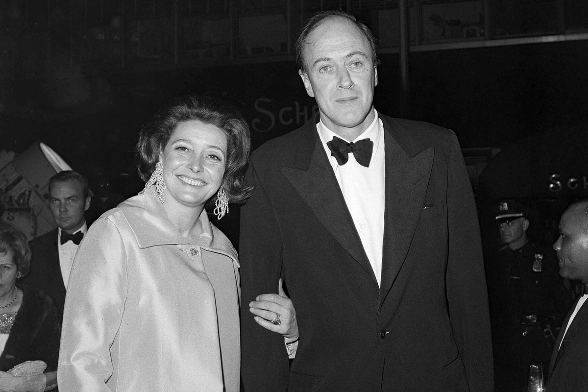 Patricia Neal and Roald Dahl (APImages)