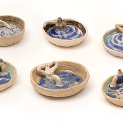Laura Bird trinket dishes, $156 at Boerum House + Home (call 347-987-4267)