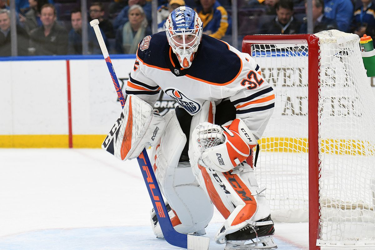 NHL: MAR 19 Oilers at Blues