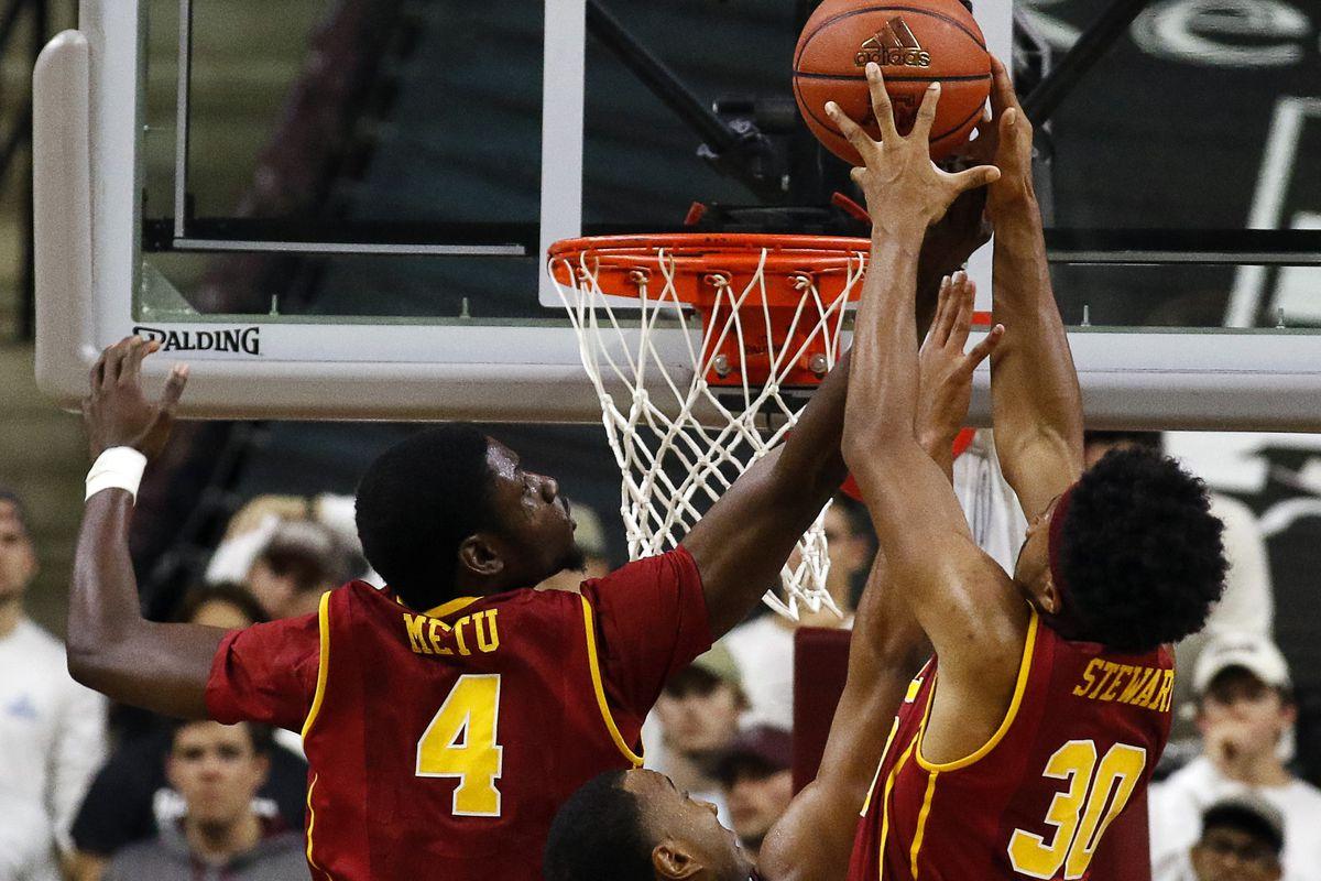 NCAA Basketball: Southern California at Texas A&M