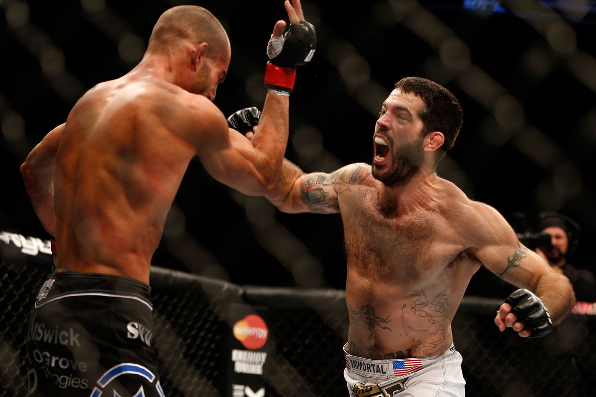 Matt Brown is back from lengthy layoff, will face Ben Saunders at UFC 245