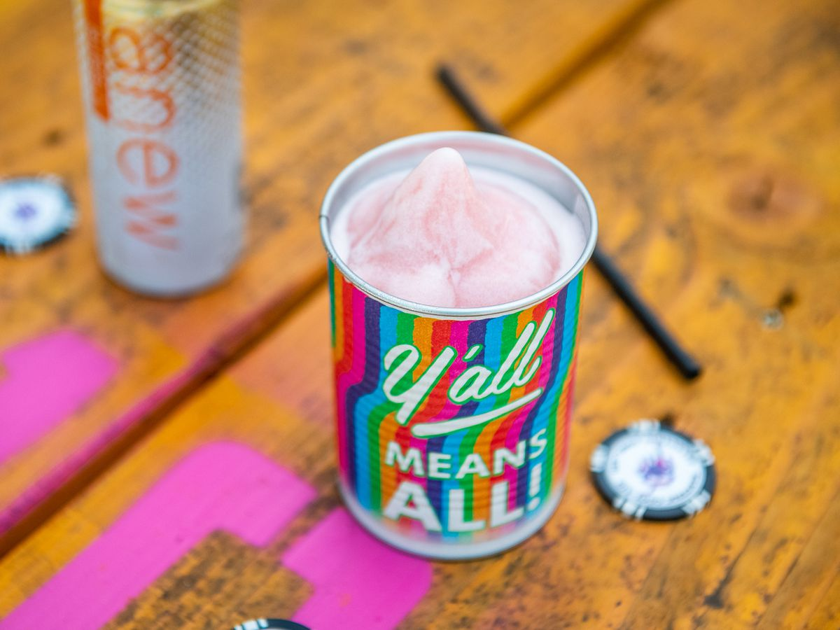 A can of sparkling frose from Electric Cool-Aid