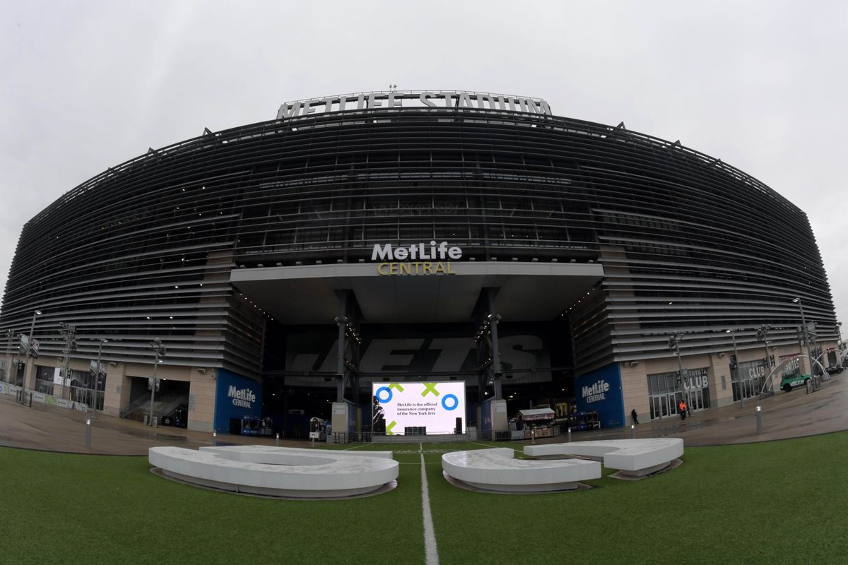 A general view of MetLife Stadium prior to the game between the Houston Texans and the New York Jets.