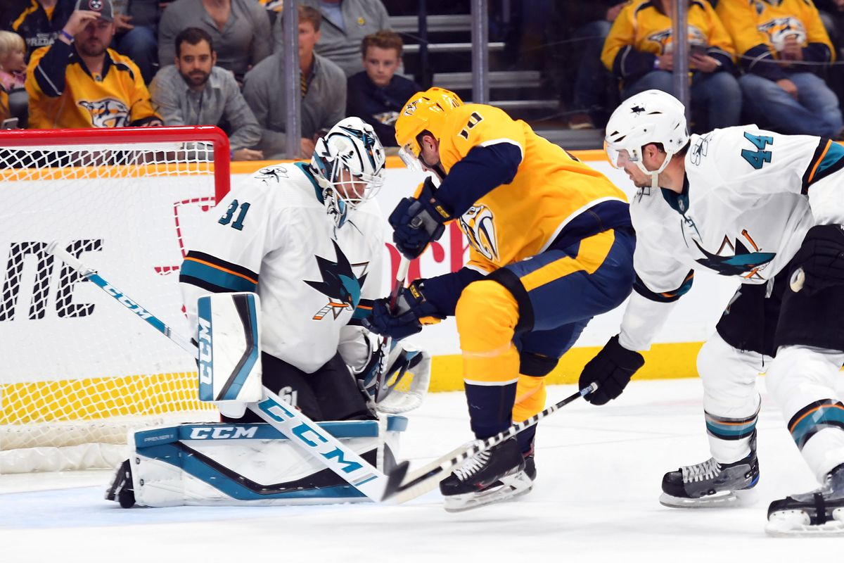 San Jose Sharks at Nashville Predators Preview: Righting the ship in Music City