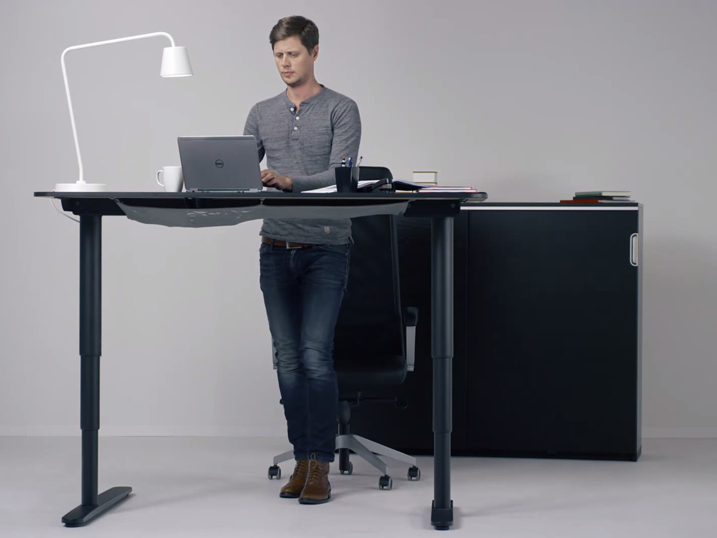 Ikea hopes its new motorized standing desk will get you out of
