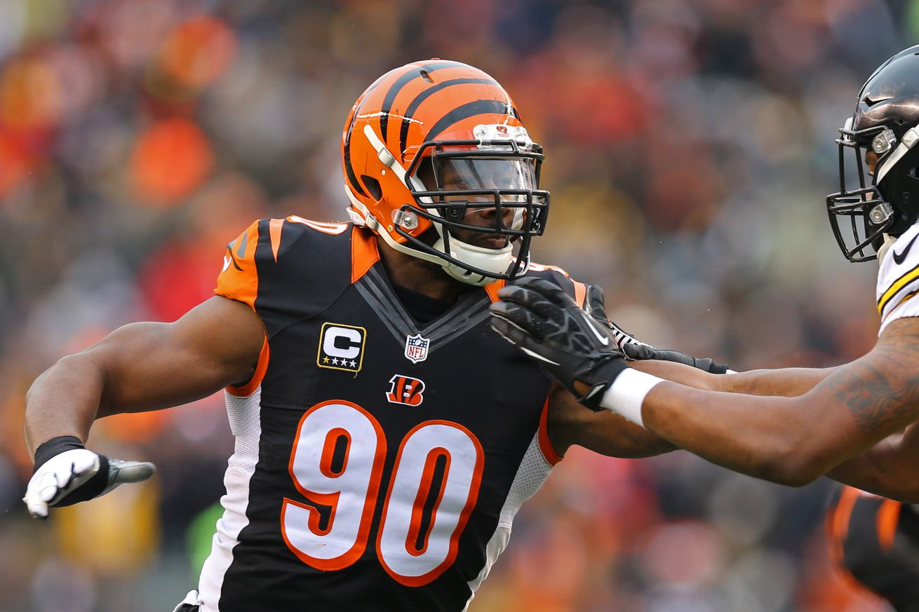 Michael Johnson fighting off youth in what may be his final season with the Bengals