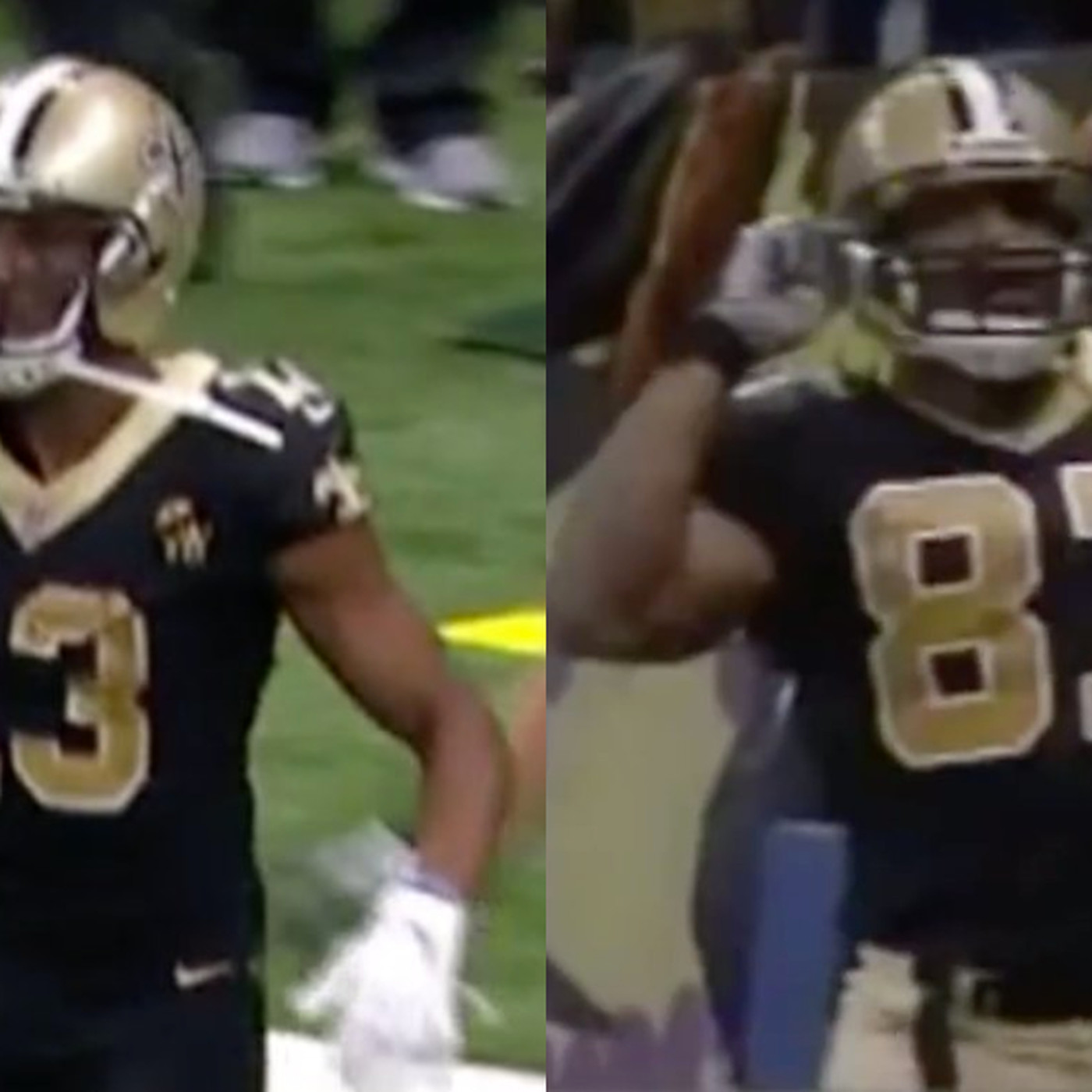 new arrival 599a8 3a12f Michael Thomas went full Joe Horn and brought out a flip ...