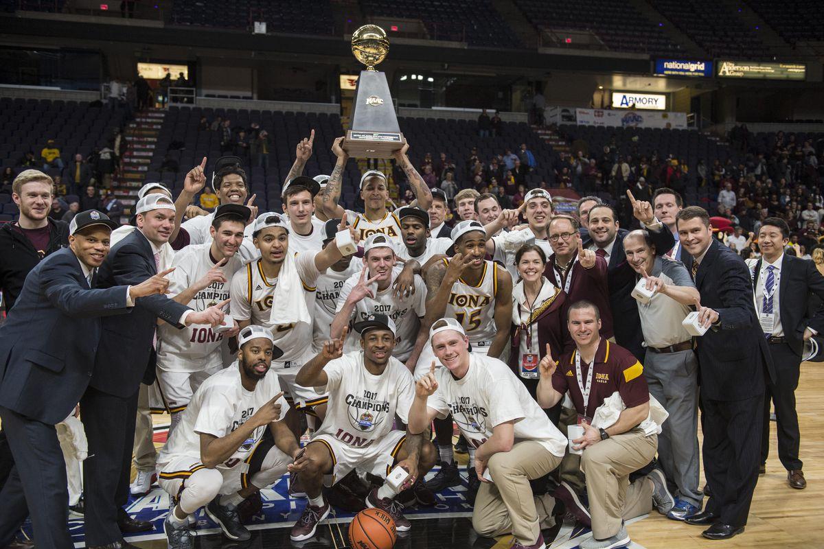 NCAA Basketball: MAAC Conference Tournament-Siena vs Iona