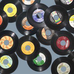 """7"""" vinyl records"""