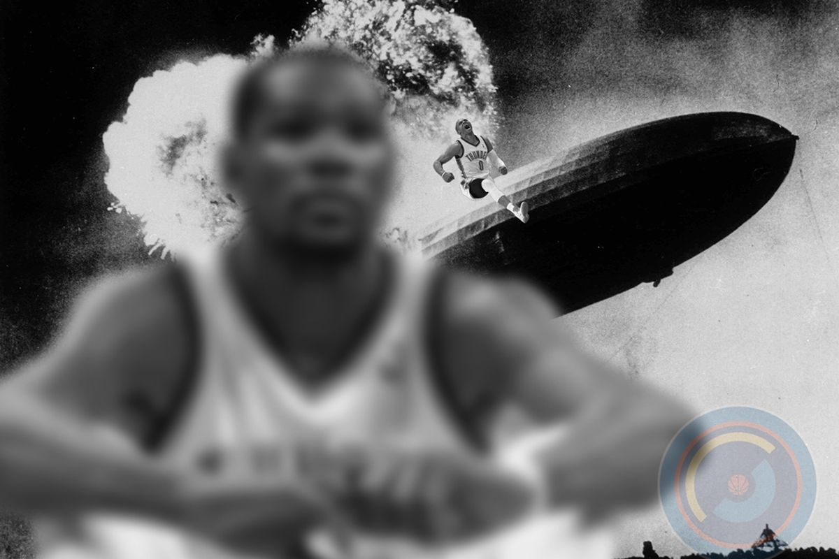 Durant knows Westbrook would run through a wall and ride the Hindenburg for him