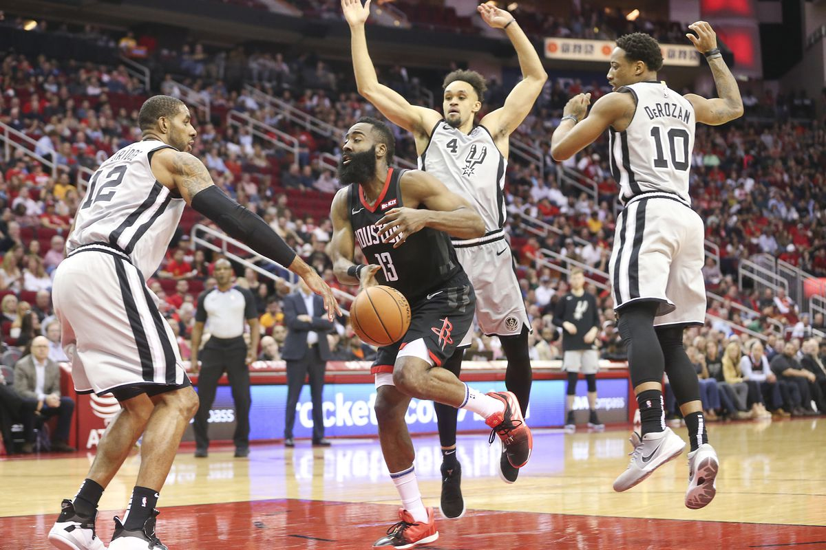cd9ebdbd001 Undisciplined defense dooms Spurs against the Rockets - Pounding The Rock
