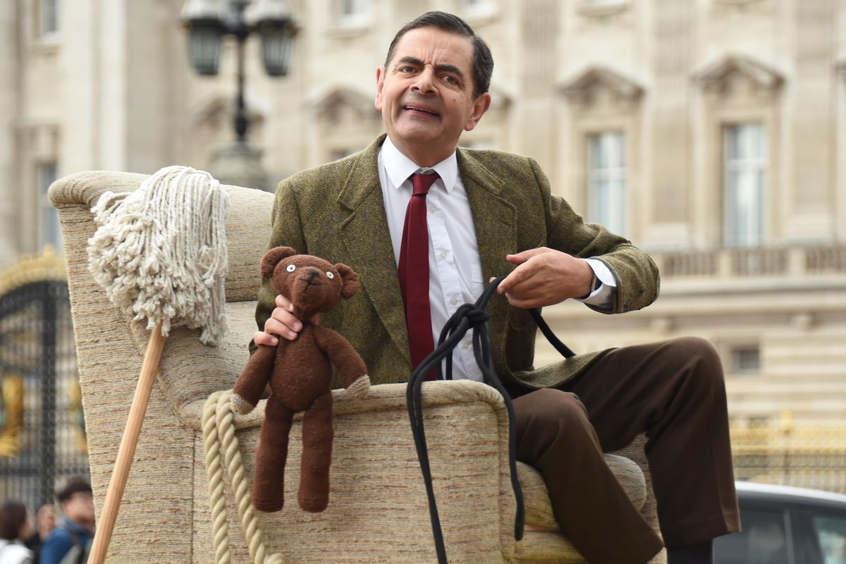 Mr. Bean was incompetent, which makes him a perfect candidate for espionage.