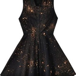 """Mary Meyer 'Cher' shirtdress, <a href=""""http://www.marymeyerclothing.com/products/collared-cher-black-galaxy"""">$116</a>"""