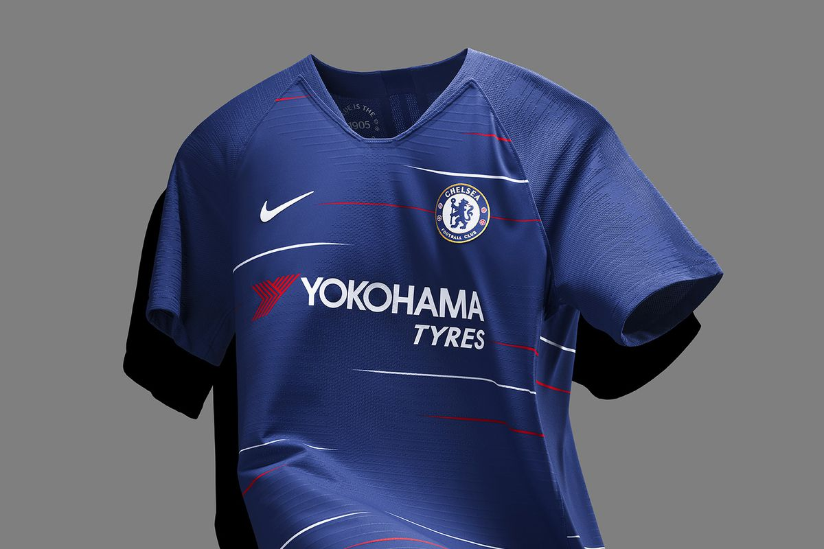 a76020fbeb0 Nike planning less garish Chelsea home shirt for next season - We ...