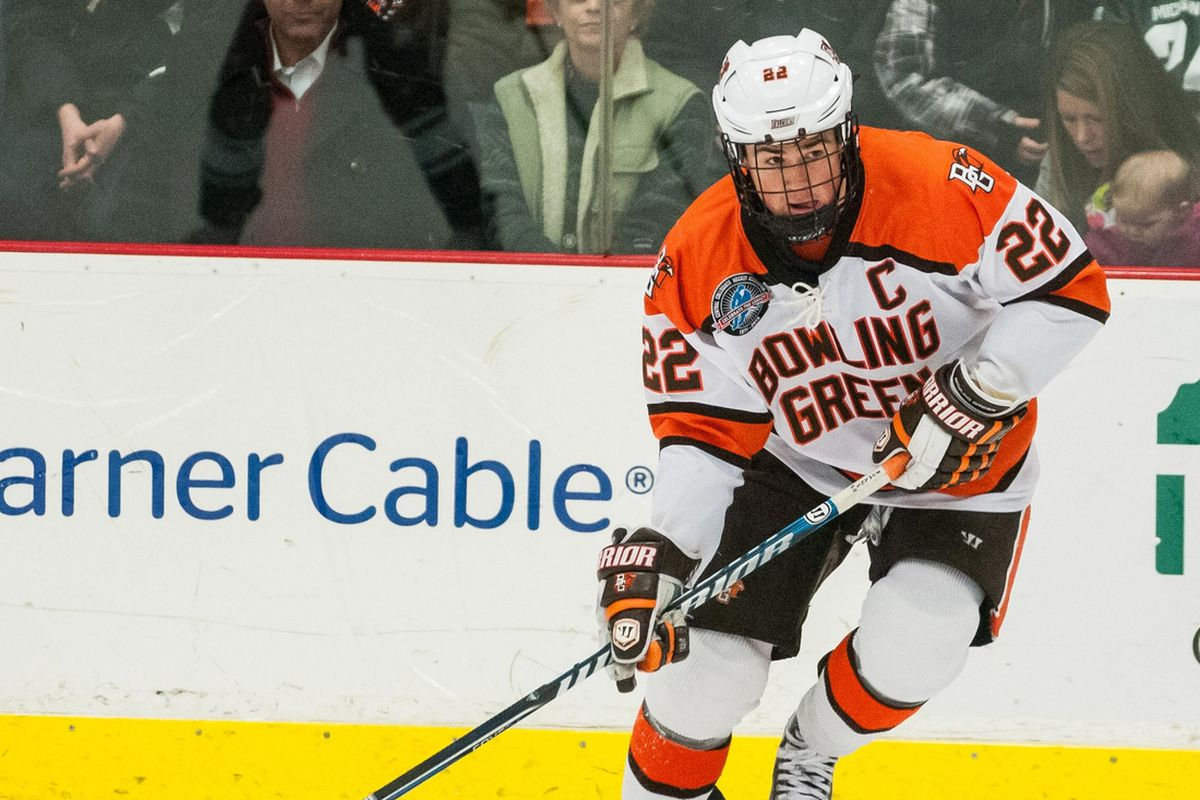 Bowling Green forward Ryan Carpenter will be one of the WCHA's top players