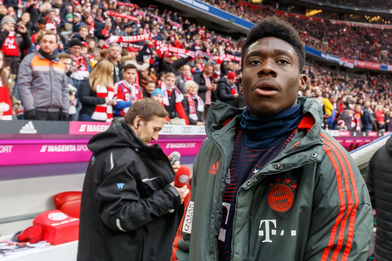 Alphonso Davies will return to Canada this month for international play