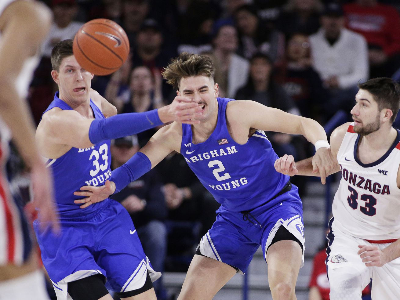 3 takeaways from the BYU Cougars' 92-69 loss to the No. 1 Gonzaga Bulldogs