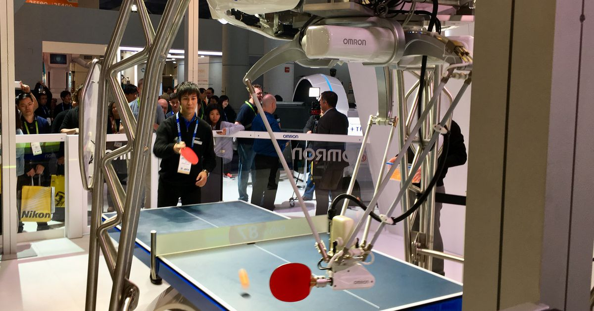 The Coolest Thing I Saw at CES: Forpheus, the Ping-pong-playing Robot