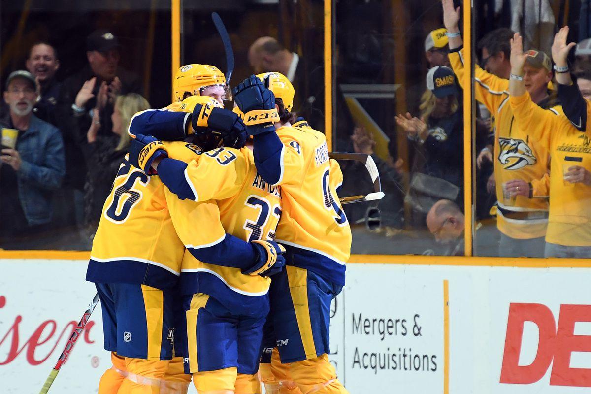NHL: Toronto Maple Leafs at Nashville Predators