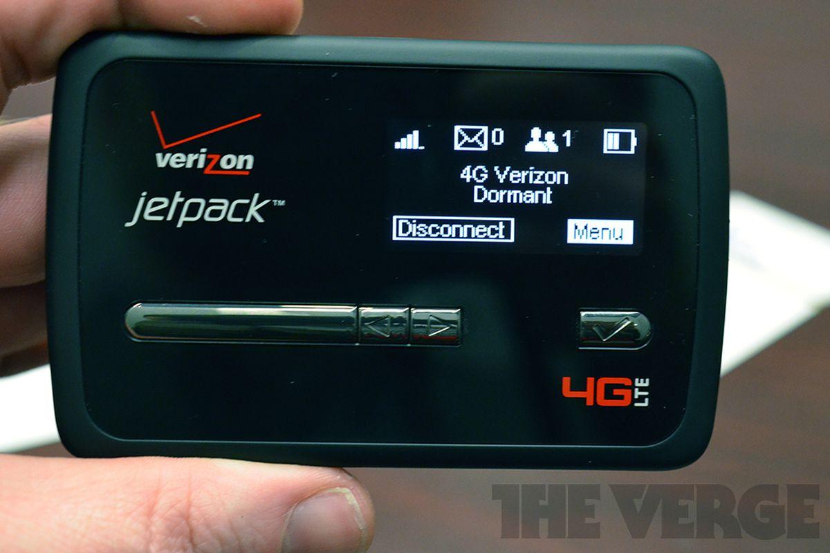 Novatel's Jetpack 4G LTE MiFi for Verizon hands-on - The Verge