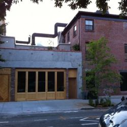 Taavo Somer's forthcoming restaurant on South 2nd Street in Williamsburg.
