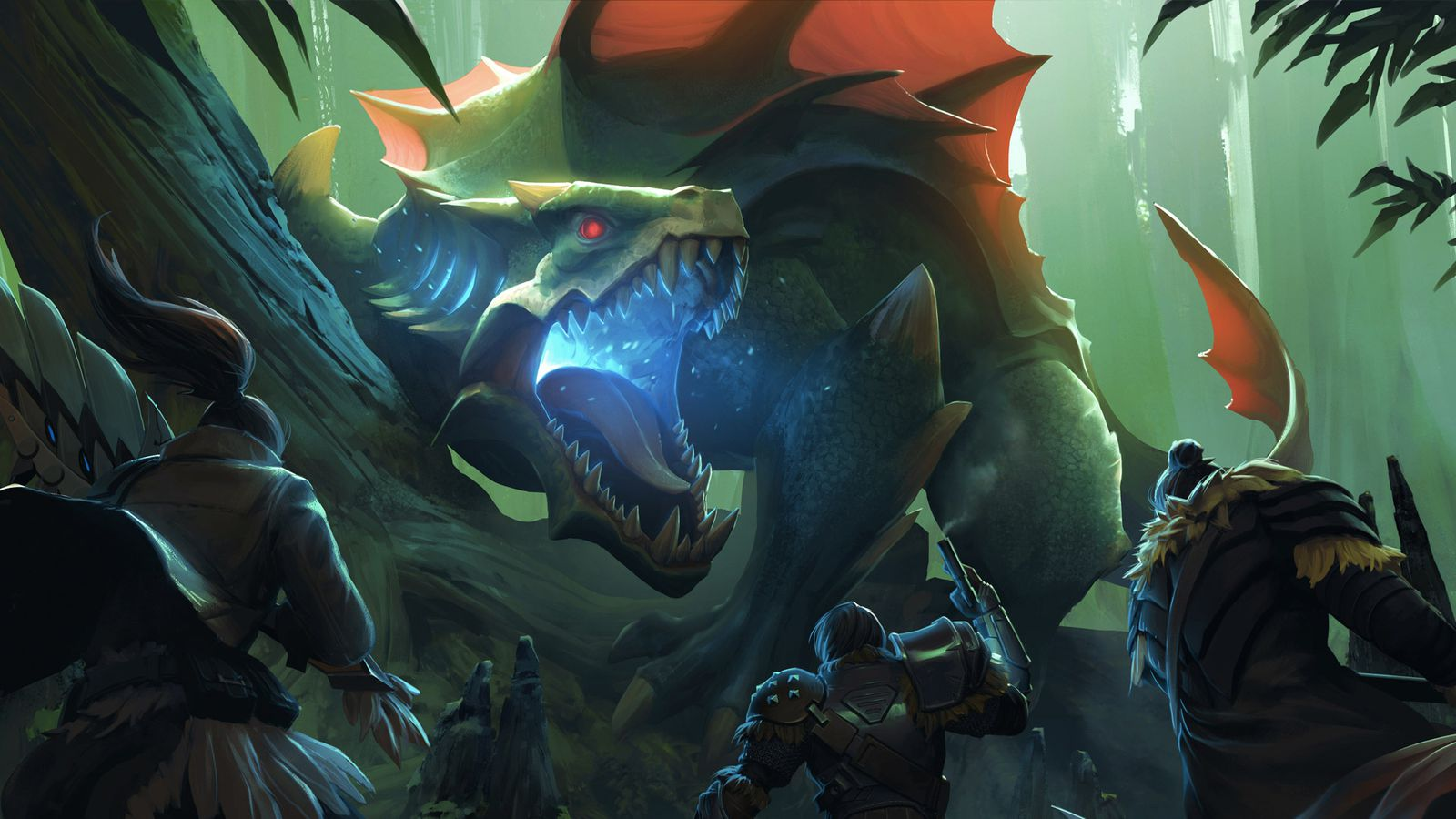 Dauntless developers not worried about competing with