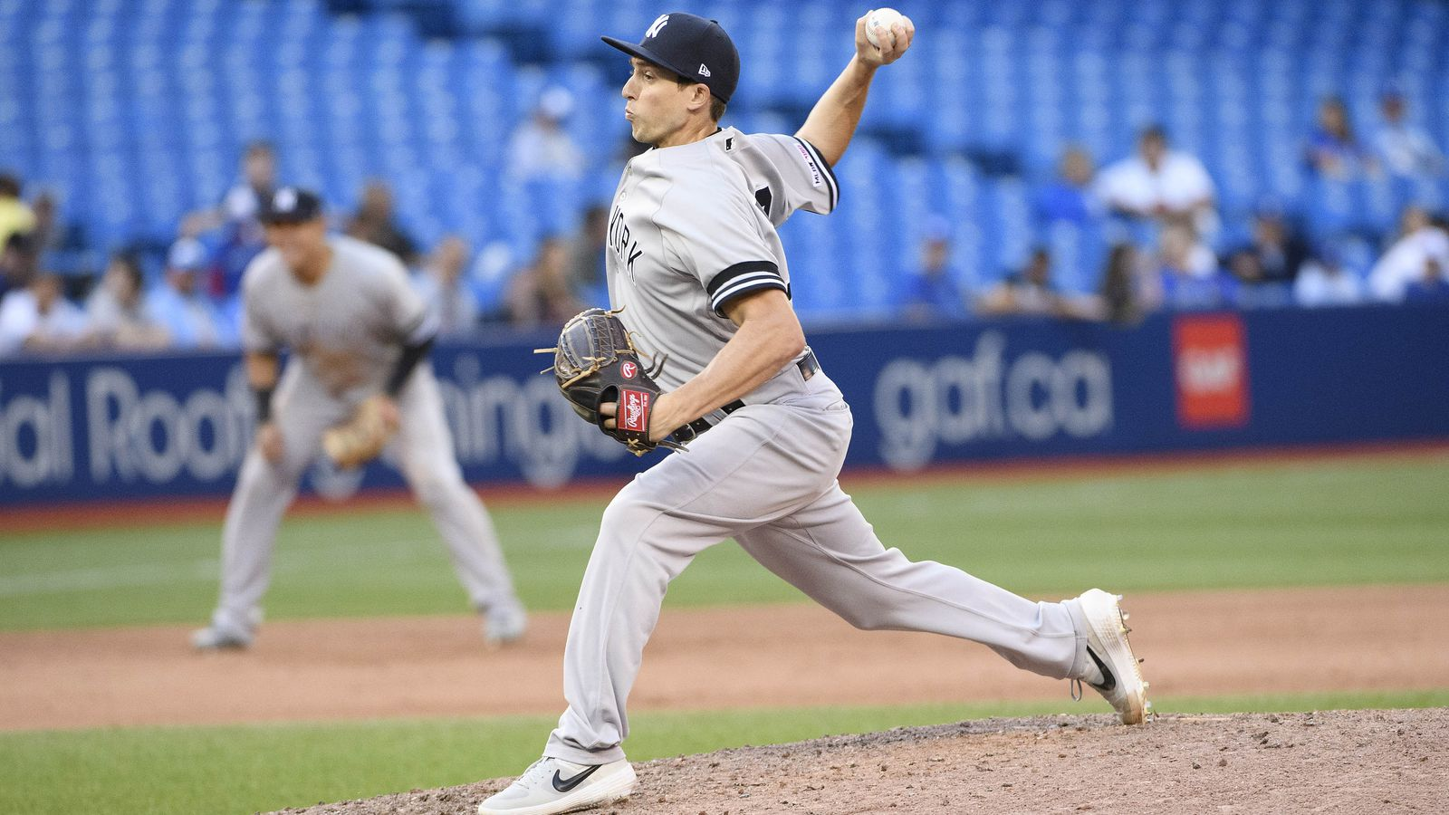 Yankees DFA Ryan Dull amidst flurry of roster moves