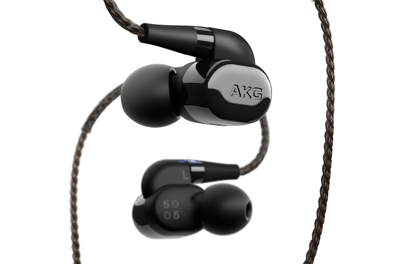 akg s new 1 000 in ear headphones promise studio quality and have interchangeable sound filters