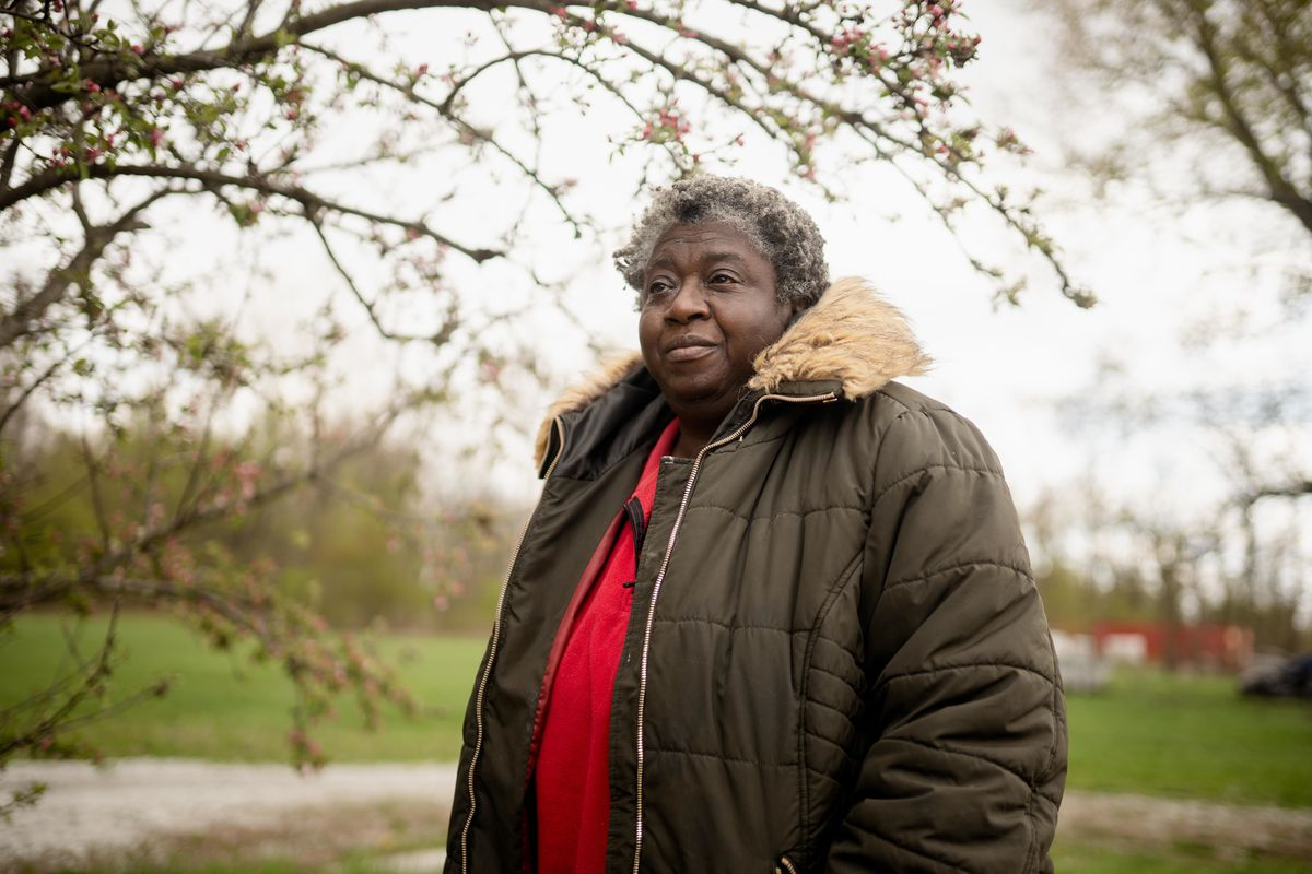 """Stephany Hammond says the campaign for a new natural gas pipeline has been misleading. """"A lot of people are living the way they want — not because they're poor and ignorant and have no choice,"""" she says."""