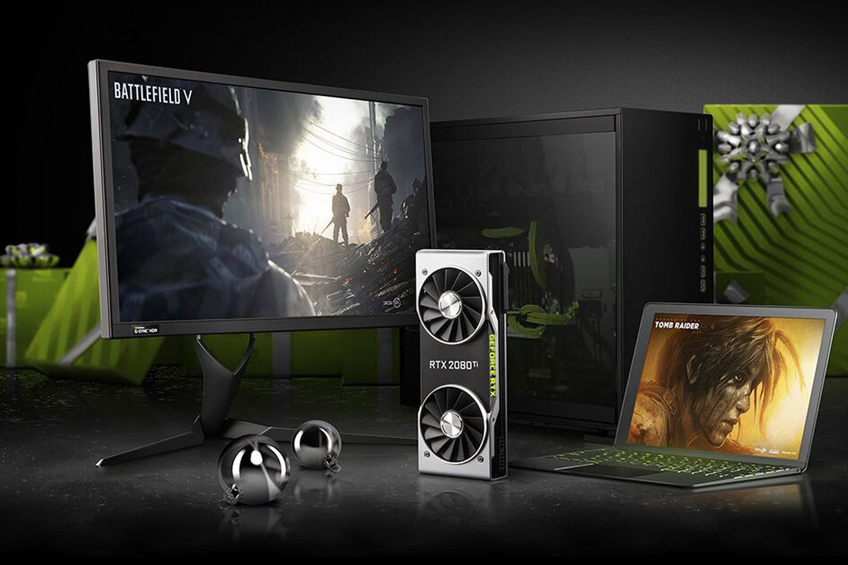 Select products discounted in Nvidia's holiday sale
