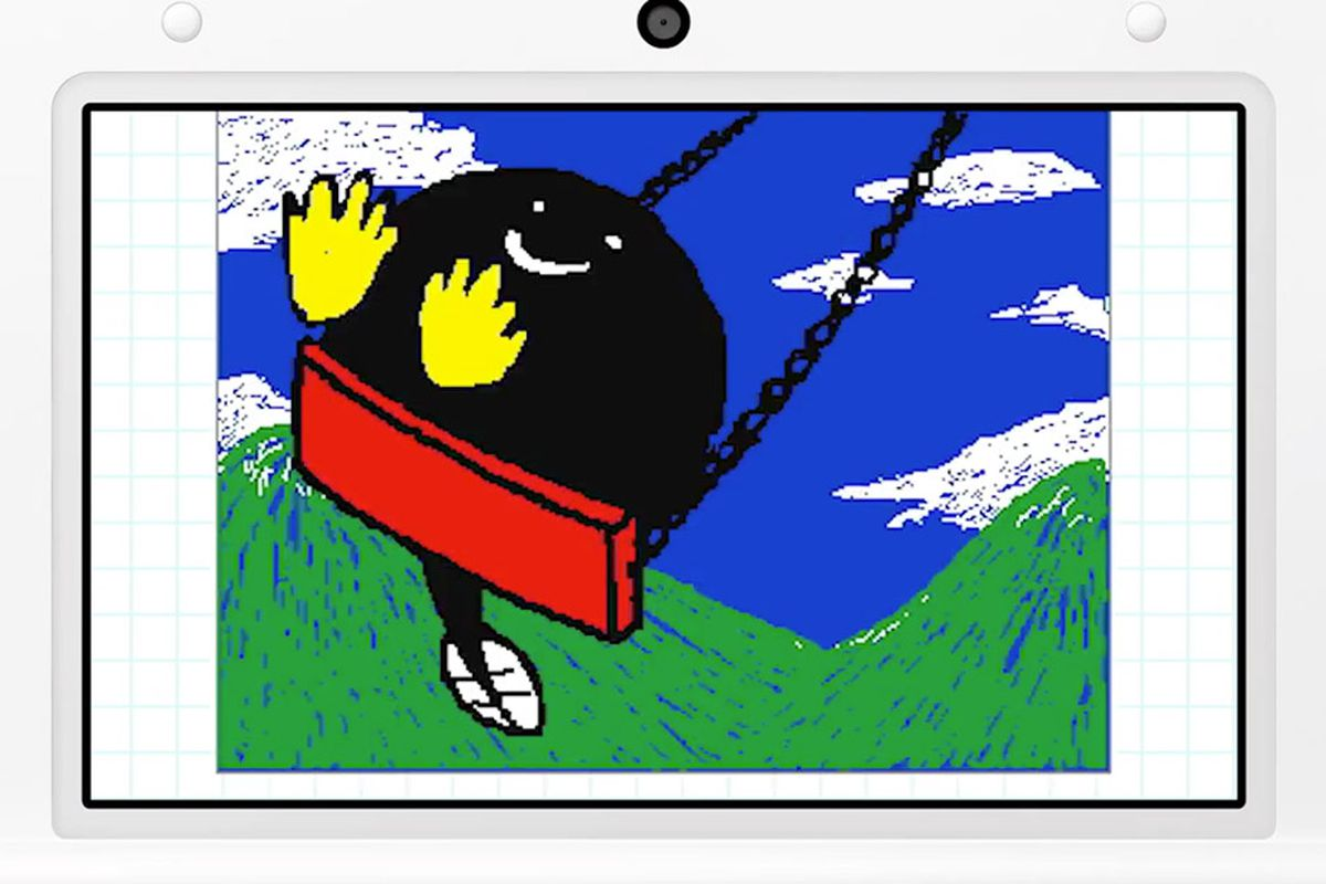Flipnote Studio coming to Nintendo 3DS with stereoscopic 3D, GIF