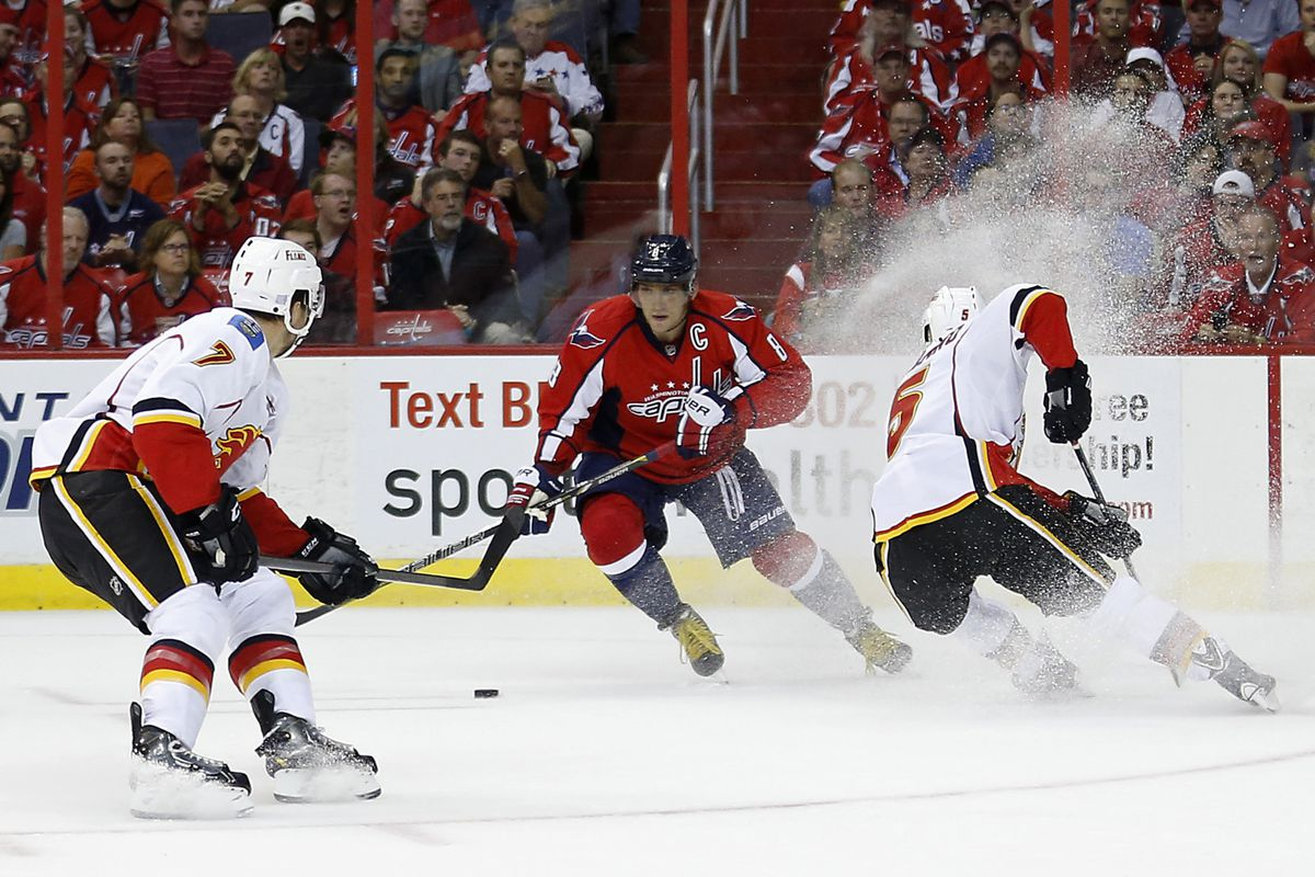 TJ Brodie and Mark Giordano were two of the NHL's top defencemen last season.
