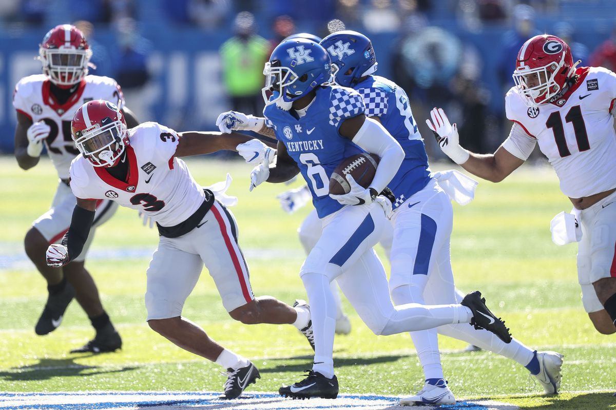 Kentucky Football Vs Georgia Bulldogs Recap And Score Takeaways From SEC Week Matchup A Sea Of Blue
