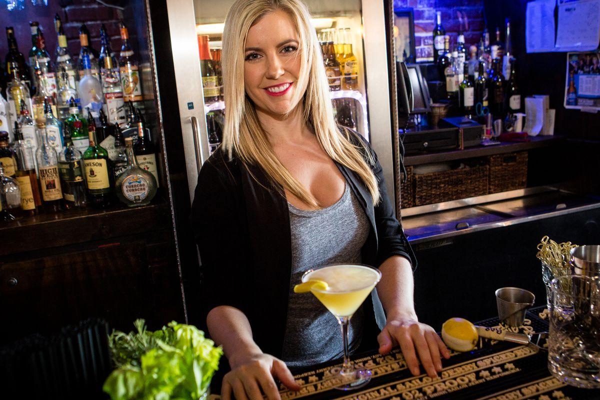 Bartender Crystal Pavlas