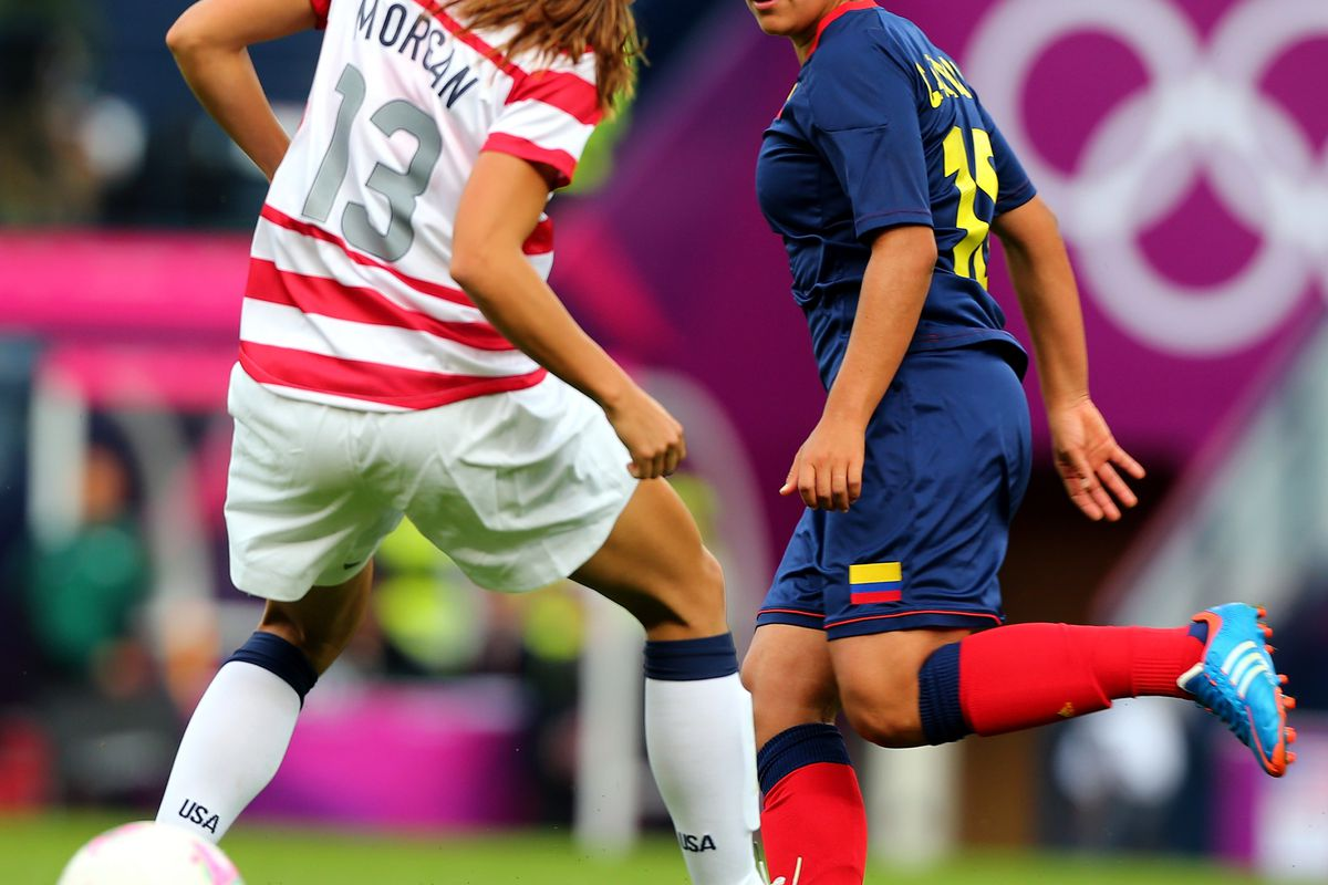The 2012 Olympics see Alex Morgan become an assist machine.(Photo by Stanley Chou/Getty Images)