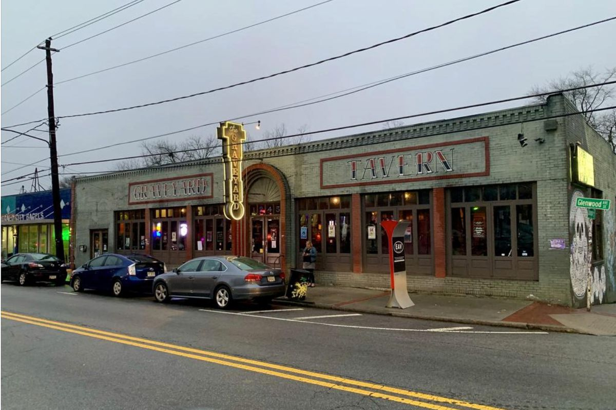 The former Graveyard Tavern in East Atlanta Village will soon transform into a six-stall food hall with all local chefs and food purveyors.