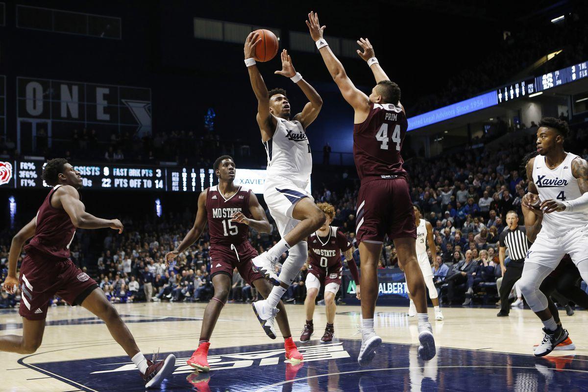 NCAA Basketball: Missouri State at Xavier