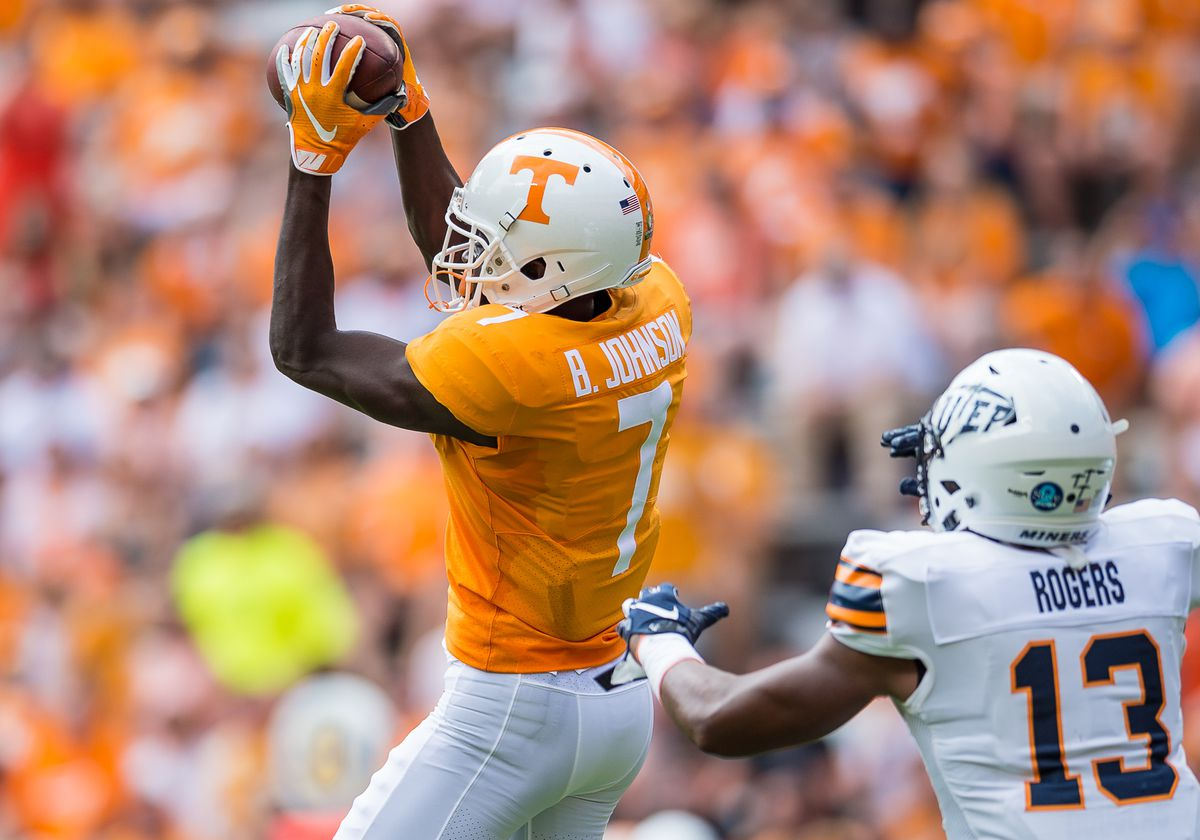 COLLEGE FOOTBALL: SEP 15 UTEP at Tennessee