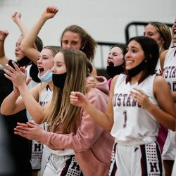 Herriman and Lone Peak compete in a high school basketball game at Herriman High School in Herriman on Thursday, Dec. 3, 2020.